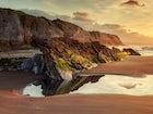 Itzurun Beach, Zumaia, Spain (Dragonstone)
