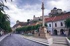 The Holy Trinity Plague Column, Trenčín