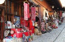 The  Kruja traditional market