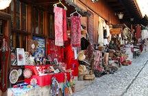 The  Kruja traditional market