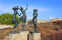 Fisherman's daughters statue, Šventoji