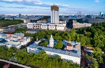 The Russian Academy of Science viewing platform, Moscow