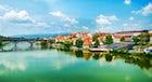 Drava River, Maribor, Slovenia
