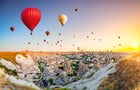 Hot-air Ballooning in Cappadoccia, Turkey