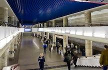 Mogilevskaya metro station