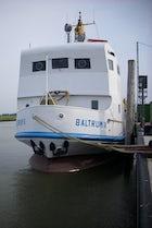 Baltrum ferry departure