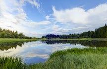 Bistroto Lake near Smolyan