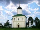 The Cathedral of the Dormition in Gorodok in Zvenigorod