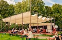 Guinguette du parc Roi Baudouin, Bar Fabiola, Brussels