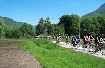 Biking through Pliva Valley
