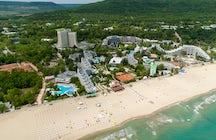 Albena resort in northern Bulgaria