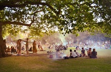 Barbecue at London Fields