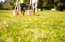 Easter Egg Hunt, the André Citroën park, Paris