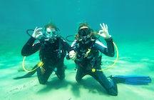 Santorini Dive center, explore the volcanic island
