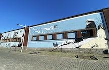 Corto Maltese mural, Brussels