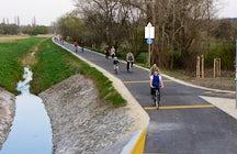 Szilas Brook Bike Route