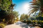 Paseo del Parque - Malaga