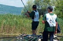 Sport fishing at Hutovo Blato