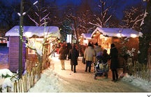 Christmas Village in the Altes AKH