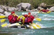 Rafting in the Neretva Canyon