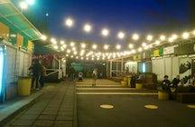 Street food court, Molodechno