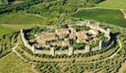 The traffic-free center of medieval Monteriggioni