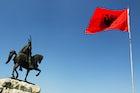 Sightseeing in Skanderbeg square