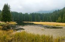 Saladzha Lake near Smolyan