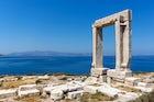 Portara and the Temple of Apollo in Naxos
