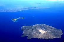 Volcanic island Nysiros