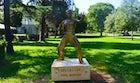 Bruce Lee Statue in Mostar