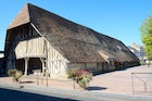 The wooden market hall in Dives, Normandy