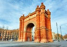 Look at the Arc de triomf in Barcelona