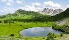 Gornje Bare Lake at Mt. Zelengora