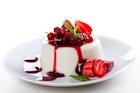One of the best Italian dessert, Panna cotta
