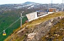 Mountain lift Tromsø