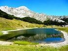 Orlovačko Lake at Mt. Zelengora