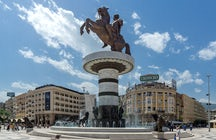 Macedonia Square Skopje