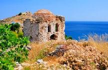 The Medieval castle of Skiathos