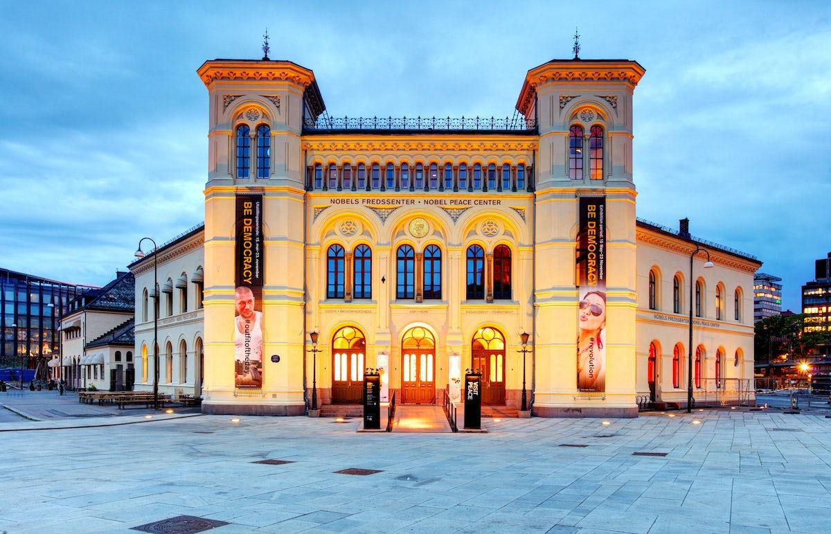 Visit Nobel Peace Center in Oslo