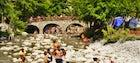 River Party in Nestorio, Kastoria