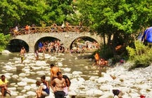 River Party in Nestorio, Kastoria