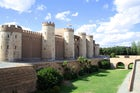 The Aljafería Palace in Zaragoza, built in 11th century