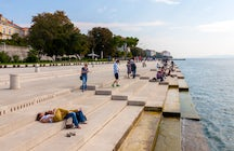 Sea organ in Zadar