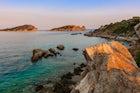 Drenia islets & beach