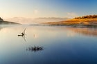 Zhrebchevo dam lake