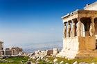 Ancient Temple Erechteum