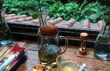 Aoyama Flower Market Tea House, Tokyo