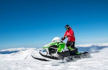 Snowmobile renting Lakselv