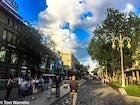 Arbat - Jibek Joly boulevard in Almaty, Kazakhstan